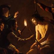 The Mocking Of Christ Art Print