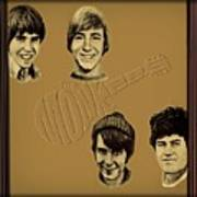 The Monkees  Art Print