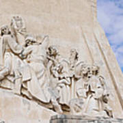 The Monument To The Discoveries Art Print