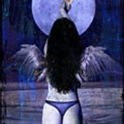 The Moon Art Print by Tammy Wetzel