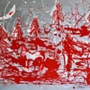 The Moonlit Woods Art Print