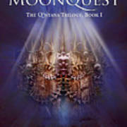 The Moonquest Book Cover Art Print