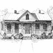 The Moore House Print by Barney Hedrick