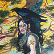 The Morrigan #2 Art Print