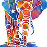 The Most Whimsical Elephant Art Print