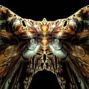 The Moth Art Print