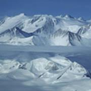 The Mount Vinson Massif 16, 059 Art Print