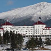 The Mount Washington Hotel Art Print