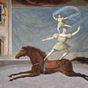 The Mounted Acrobats Art Print