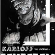 The Mummy 1932 Movie Poster  Art Print