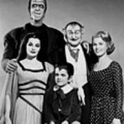 The Munster Family Portrait Art Print