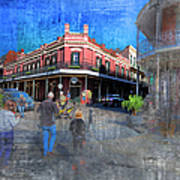 The Muriel's Of Jackson Square  Art Print