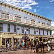 The Murray Hotel At Mackinac Island Art Print