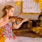 The Music Of Silence Art Print