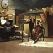 The Musicale, Art Print