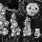 The Mysterious Garden Art Print