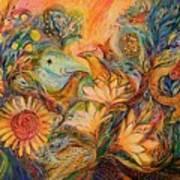 The Mystery Of Orange Tree Art Print
