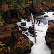 The Natural Bridge Gorge Art Print