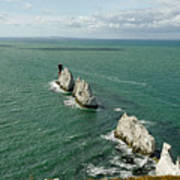 The Needles - Isle Of Wight Art Print