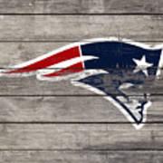 The New England Patriots 3c Art Print
