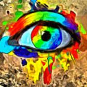 The New Eye Of Horus Art Print