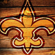 The New Orleans Saints 3b Art Print