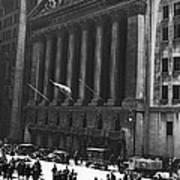The New York Stock Exchange Art Print