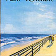 The New Yorker Cover - April 1st, 1967 Art Print