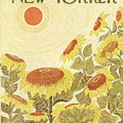 The New Yorker Cover - August 24th, 1968 Art Print