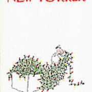 The New Yorker Cover - December 14th, 1981 Art Print