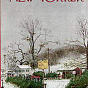 The New Yorker Cover - December 19th, 1970 Art Print