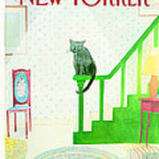 The New Yorker Cover - December 8th, 1980 Art Print