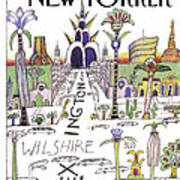 The New Yorker Cover - February 13th, 1995 Art Print