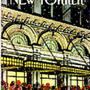 The New Yorker Cover - January 18th, 1988 Art Print