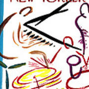 The New Yorker Cover - January 6th, 1968 Art Print