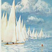New Yorker Cover - June 13th, 1959 Art Print