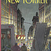The New Yorker Cover - March 8th, 1993 Art Print