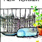The New Yorker Cover - May 6th, 1972 Art Print