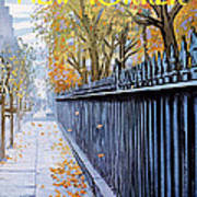 Autumn In New York Art Print