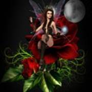 The Night Fairy 2 Art Print