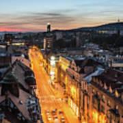 The Nights Of Sarajevo Art Print