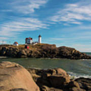 The Nubble 2 Art Print
