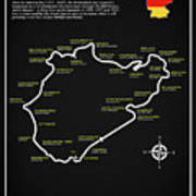 The Nurburgring Nordschleife Art Print