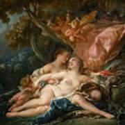 The Nymph Callisto Seduced By Jupiter Art Print