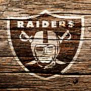 The Oakland Raiders 1f Art Print