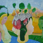 The Oasis Of Desire Art Print