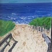 The Ocean View Art Print