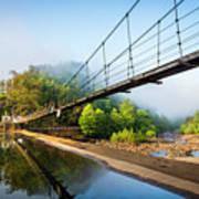 The Ocoee River Dam Art Print