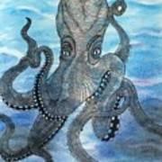 The Octopus 3 Art Print