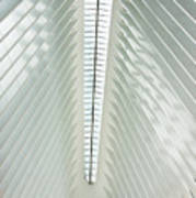 The Oculus Interior Platform Art Print